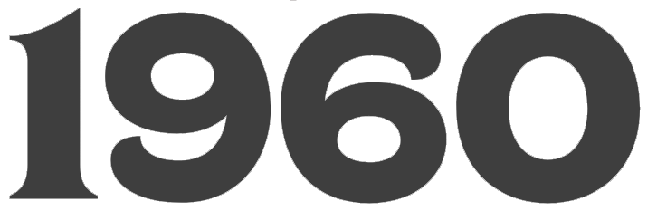 Logo b&b 1960